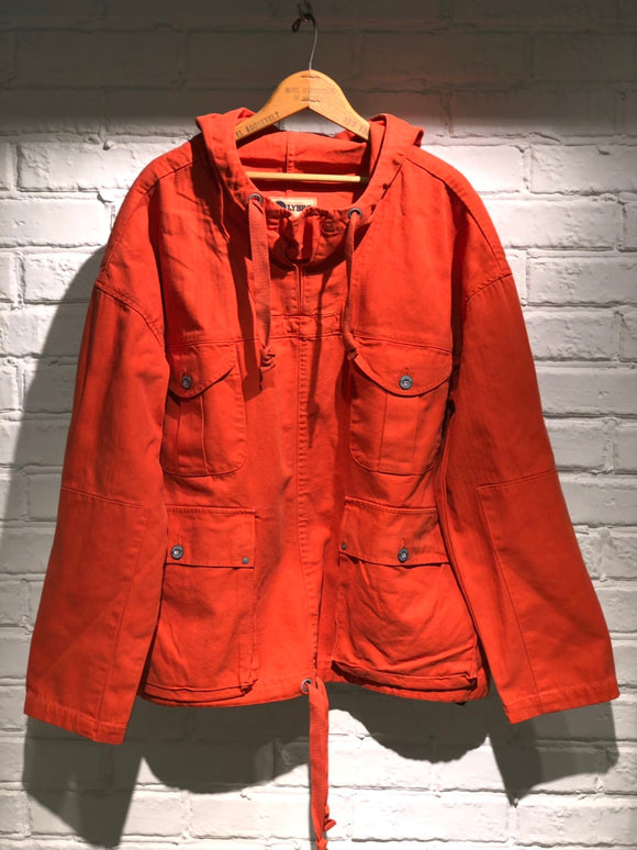 Nigel Cabourn - LYBRO BRITISH ARMY SMOCK MIXED - CANVAS + HERRINGBONE