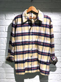 Nigel Cabourn - LYBRO USMC SHIRT - YELLOW CHECK