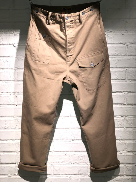 Nigel Cabourn - LYBRO WW2 PANT - BRITISH TAN
