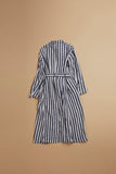 Nigel Cabourn WOMAN - LONG ATLIER COAT - STRIPE