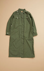 Nigel Cabourn WOMAN - FATIGUE COAT - VEGETABLE DYE