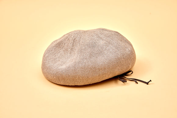 Nigel Cabourn WOMAN - LINEN BERET - ONE SIZE