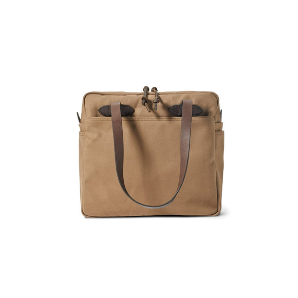 FILSON - RUGGED TWILL TOTE BAG - WITH ZIPPER
