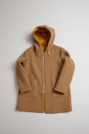 Nigel Cabourn - REVERSIBLE WARM UP COAT - DOUBLE FACE