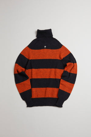 Nigel Cabourn - SEAMLESS ROLL NECK - RUGBY