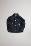 Nigel Cabourn - LYBRO USMC SHIRT JACKET - BLACK NAVY