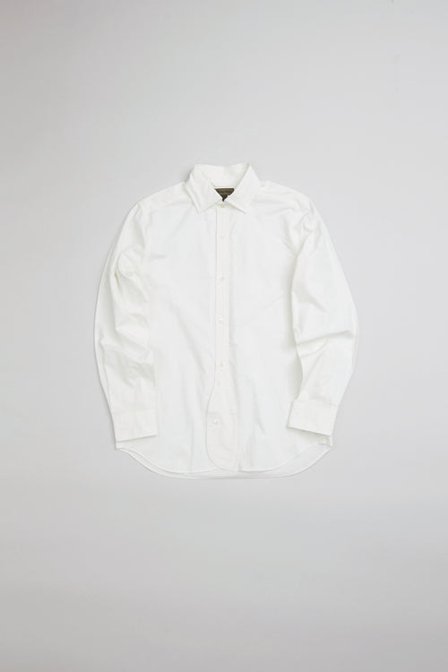 Nigel Cabourn - BRITISH OFFICERS SHIRT - HIGH DENSITY TWILL