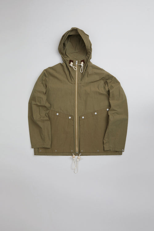 Nigel Cabourn - 50s MOUNTAIN ZIP UP PARKA - WEATHER CLOTH