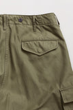 Nigel Cabourn - ARMY CARGO SHORT PANT - DARK GREEN