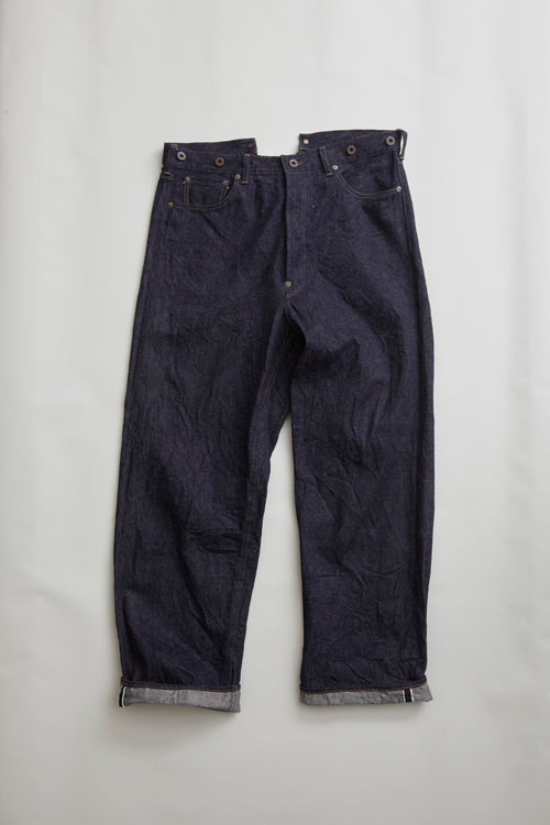 Nigel Cabourn - RAILMAN DENIM PANT - WIDE