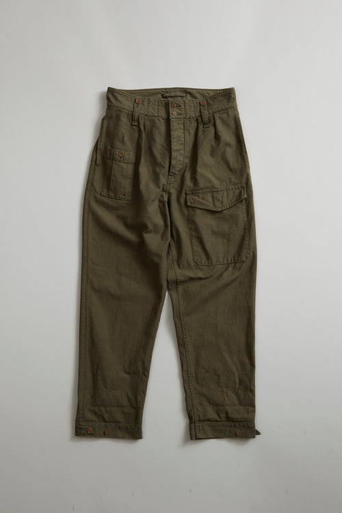 Nigel Cabourn - BRITISH ARMY PANT - OLIVE
