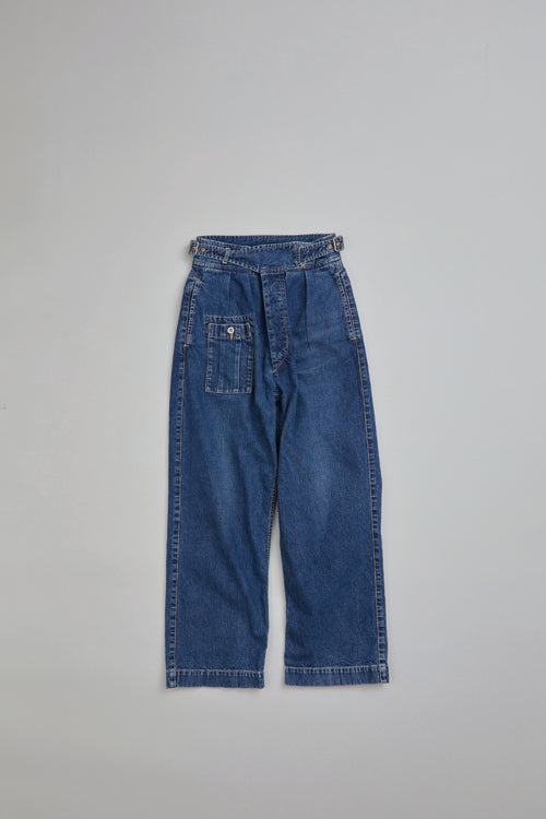 Nigel Cabourn WOMAN - BATTLE DRESS PANT - JAPAN DENIM