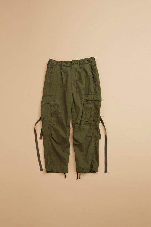 Nigel Cabourn WOMAN - ARMY CARGO PANT - WEATHER CLOTH
