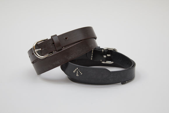 Nigel Cabourn WOMAN - BASIC BELT - BRIDLE LEATHER