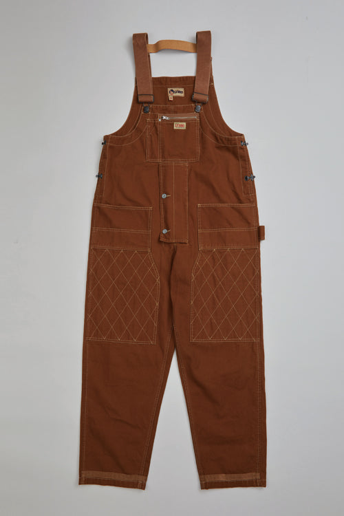 Nigel Cabourn - LYBRO CARPENTER DUNGAREE - CANVAS