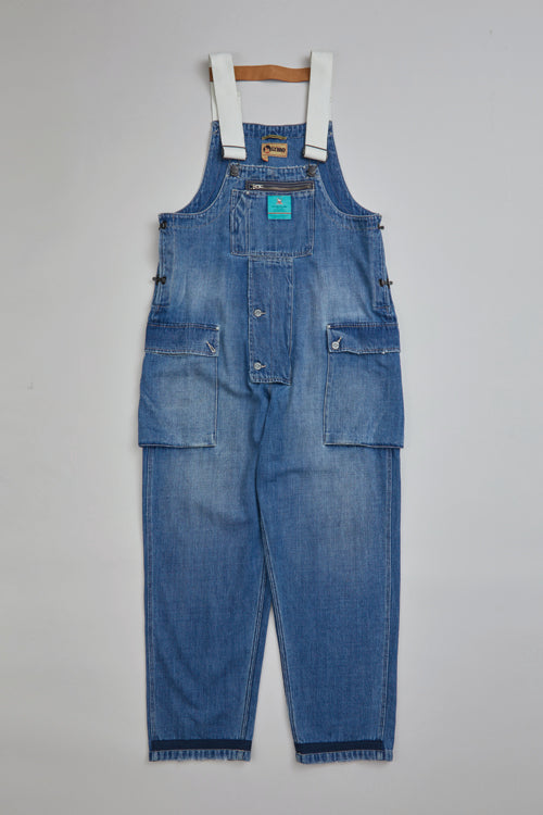 Nigel Cabourn - LYBRO NAVAL DUNGAREE DENIM - WASHED