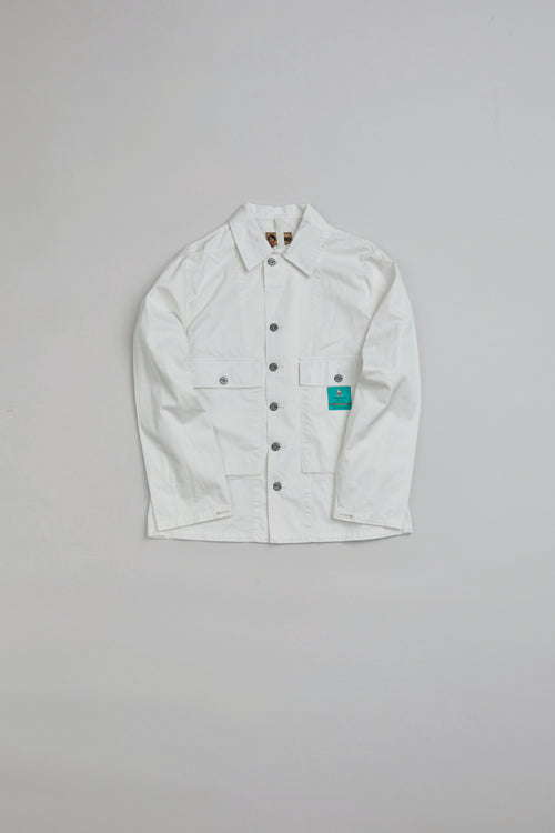 Nigel Cabourn LYBRO - USMC SHIRT JACKET - AGED COTTON POPLIN