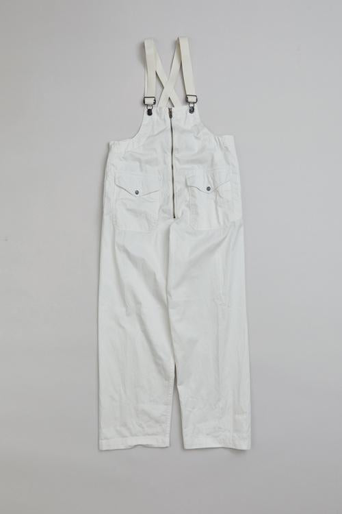 Nigel Cabourn WOMAN - LYBRO DECK WADER DUNGAREE - AGED COTTON POPLIN