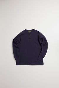 Nigel Cabourn - 40s WORK HENLEY NECK - LONG SLEEVE