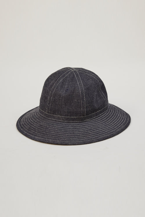 Nigel Cabourn - DENIM HAT - 12.5oz DENIM
