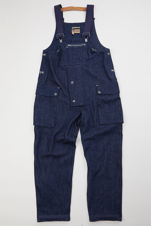 Nigel Cabourn LYBRO - NAVAL DUNGAREE - 12oz JAPANESE DENIM
