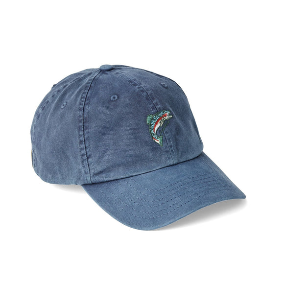 FILSON - WASHED LOW PROFILE CAP - BLUE