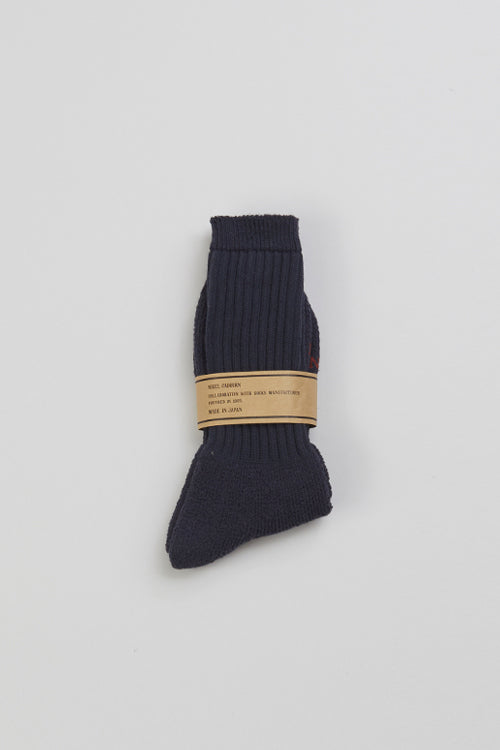 Nigel Cabourn - PILE SOCKS - 4COLOUR