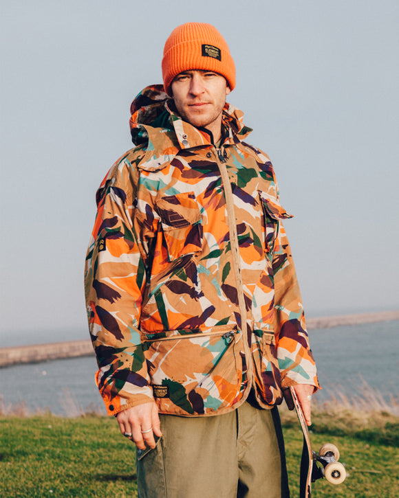 Nigel Cabourn × ELEMENT - ALDER HUNTING PARKA - CRAZY CAMO