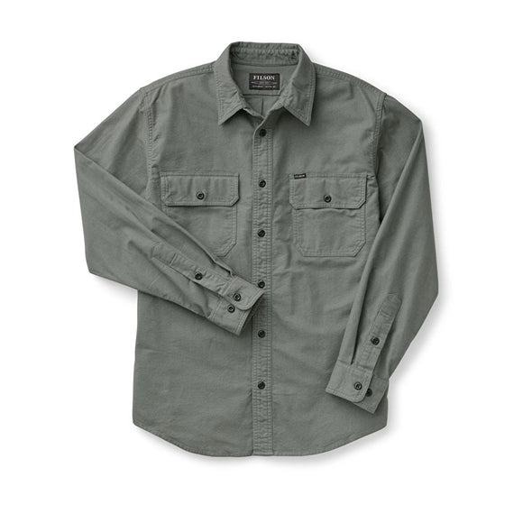 FILSON - FIELD FLANNEL SHIRT - Balsam Green