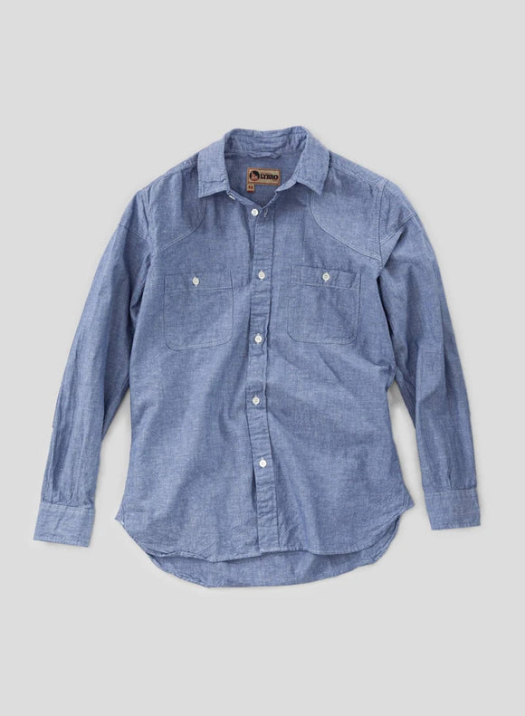 Nigel Cabourn - LYBRO MALLORY SHIRT - COTTON LINEN FABRIC
