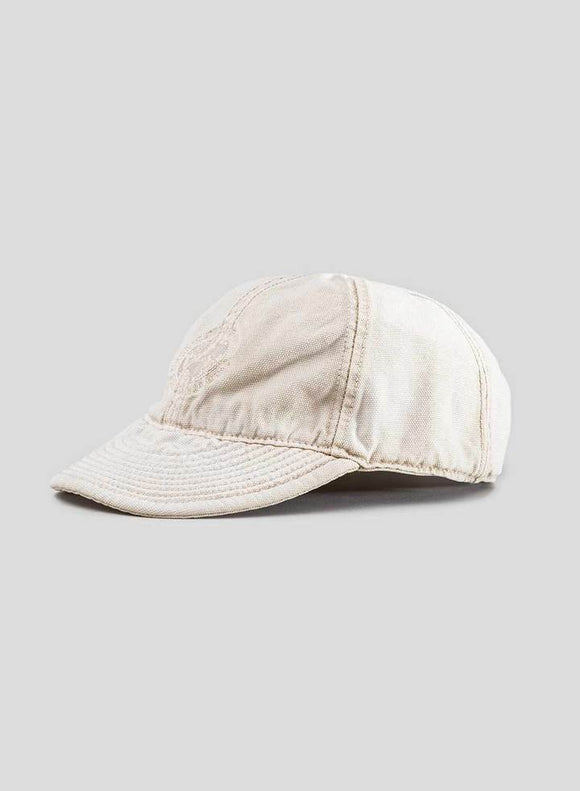 Nigel Cabourn - LYBRO GLOBE LOGO MECHANICS CAP - CANVAS