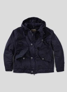 Nigel Cabourn - LYBRO COLD WEATHER JACKET POPLIN - BLACK NAVY