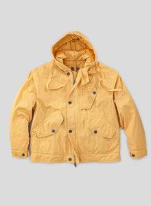 Nigel Cabourn - LYBRO COLD WEATHER JACKET POPLIN - SURVIVAL YELLOW