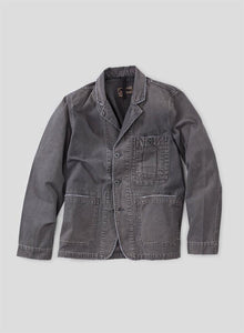 Nigel Cabourn - LYBRO BRITISH ARMY BLAZER CANVAS - RAF GREY