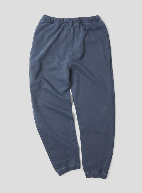 Nigel Cabourn THE ARMY GYM - EMBROIDED ARROW JOGGING PANT - IN BLACK NAVY