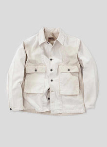 Nigel Cabourn - LYBRO CANVAS USMC SHIRT JACKET- STONE