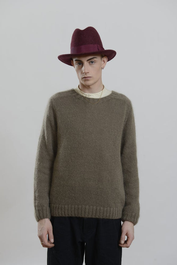 HACKNEY UNION WORKHOUSE - BRIXTON HAT - PLUM WOOL