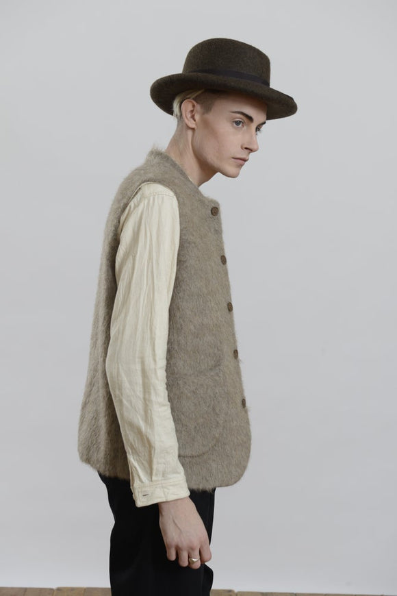 HACKNEY UNION WORKHOUSE - CLASSIC GILET - MOHAIR