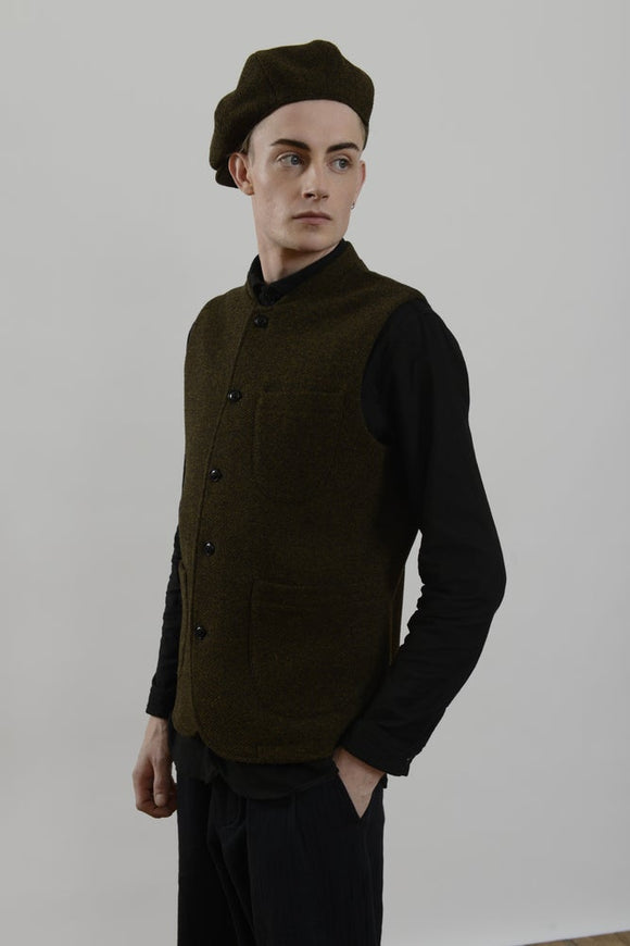 HACKNEY UNION WORKHOUSE - JACK CAP - HEATHER WOOL