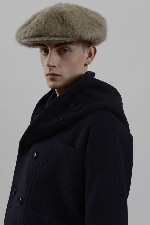 HACKNEY UNION WORKHOUSE - BAKER BOY CAP - MOHAIR