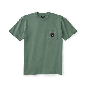 FILSON - SMOKEY BEAR ONE POCKET TEE - SHORT SLEEVE