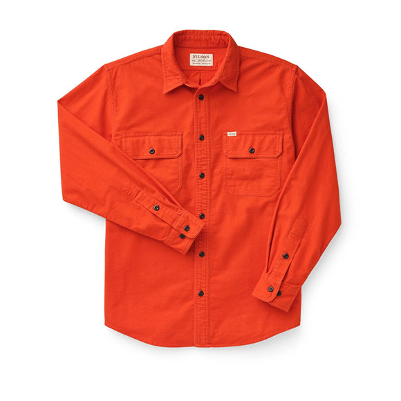 FILSON - FIELD FLANNEL SHIRT - Pheasant Red
