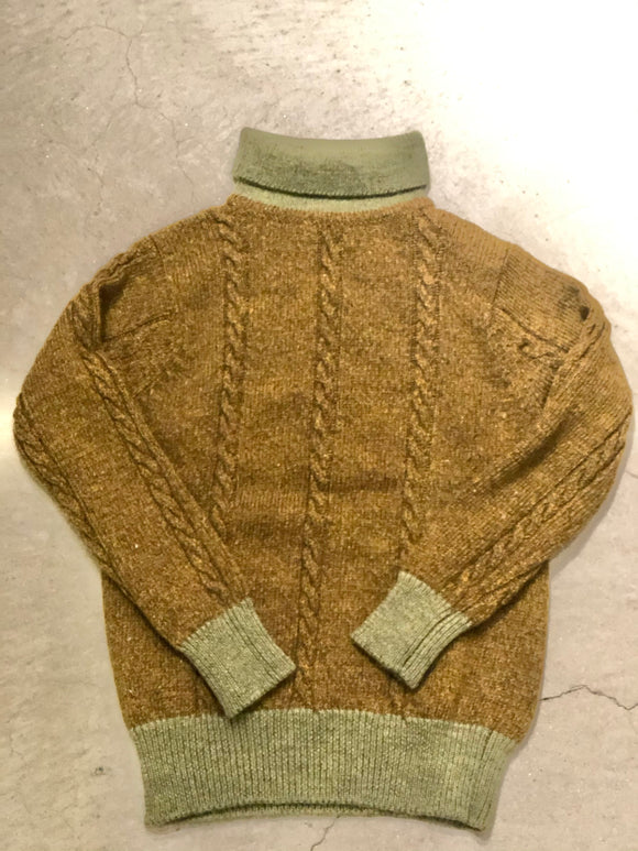 Nigel Cabourn - CABLE ROLL NECK - AUTHENTIC