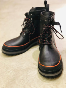Nigel Cabourn × TRETORN - RUBBER BOOT - BLACK