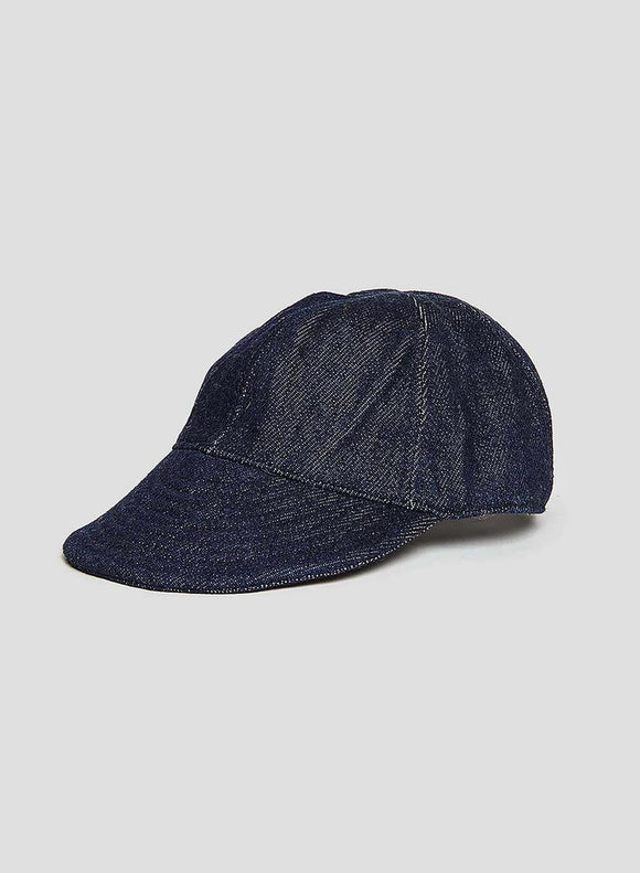 Nigel Cabourn - LYBRO MECHANICS CAP - SOFT DENIM