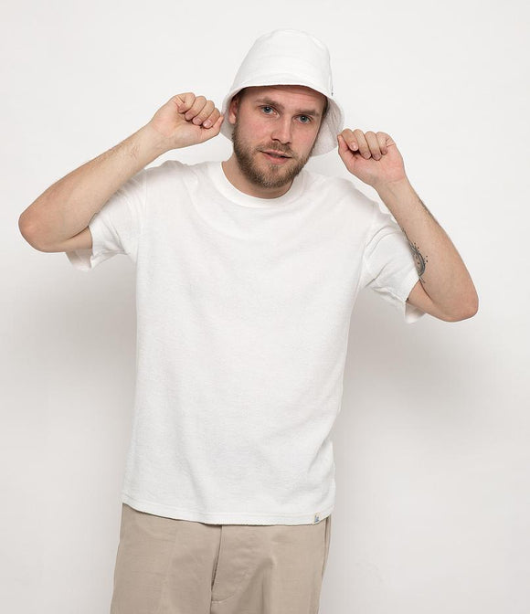 Merz b.Schwanen - FTCTOS01 - FRENCH TERRY OVERSIZED TEE WHITE