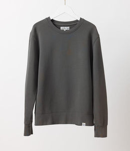 Merz b.Schwanen - CSW01 CREW NECK SWEAT SHIRT - PINE