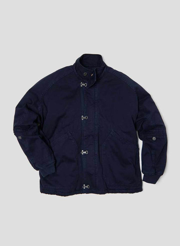 Nigel Cabourn - LYBRO SHORT ARCTIC CLIP JACKET - ROYAL NAVY