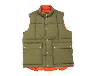 Nigel Cabourn - DOWN VEST - COTTON/NYLON