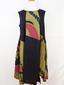 Zigzag Dress - Patch Batik